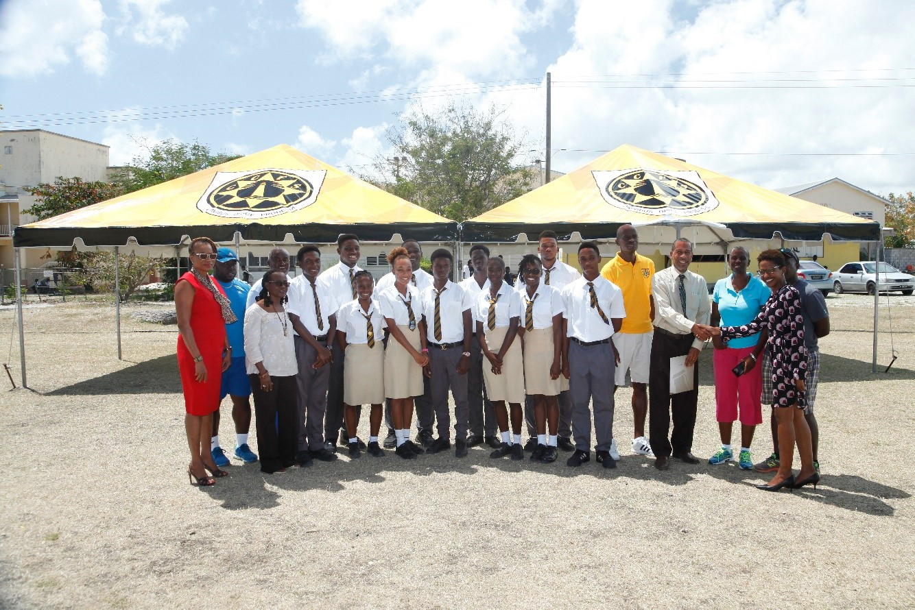 1 Students and members of staff of the Christ Church Foundation School were pleased with their donation of two 20x20 tents. The tents were donated by BHLu0027s ... & Largest Beverage Manufacturer | The BHL Group